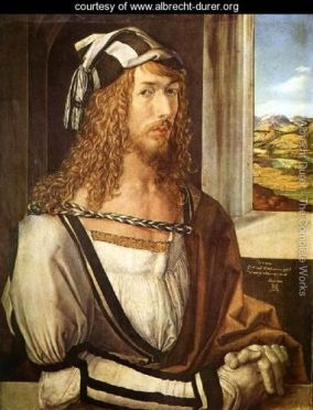 Self-Portrait-Dürer