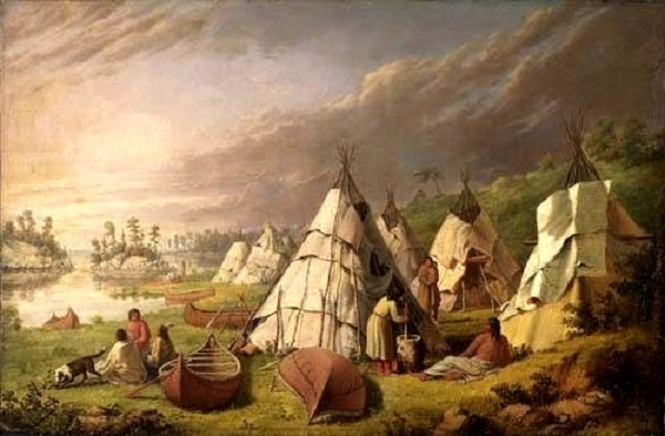 camp indien