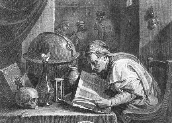 L'alchimiste et les trois paysans