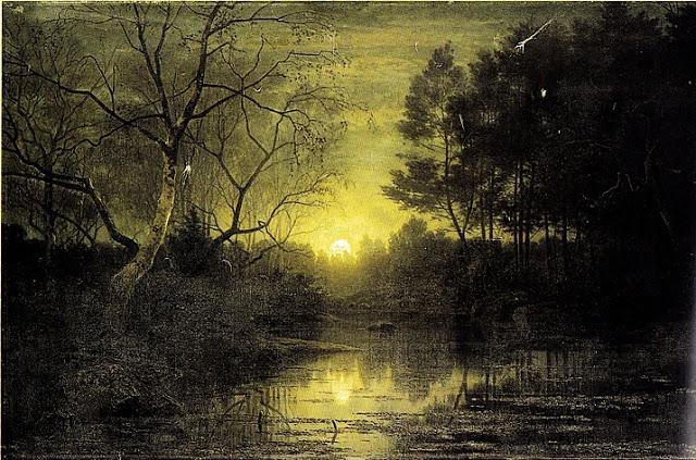 La mare Apia dans la forêt de Fontainebleau, 1861, Louvre, Georg Saal.