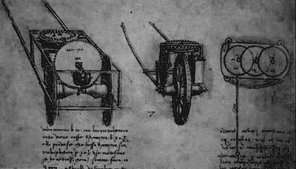 Odomètre de Léonard de Vinci