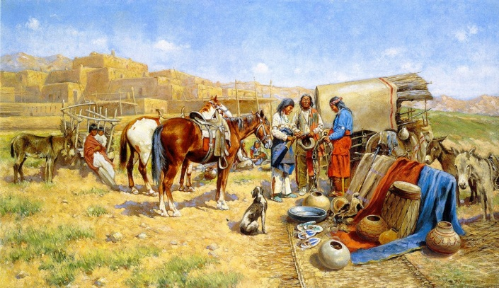 John-Hauser-xx-Indian-Traders-xx-Private-collection