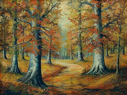 Margaret Anderson - Bois de hêtres - 1938