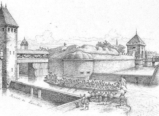 Porte Neuve en 1576