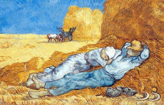 La-sieste-de-Vincent-Van-Gogh
