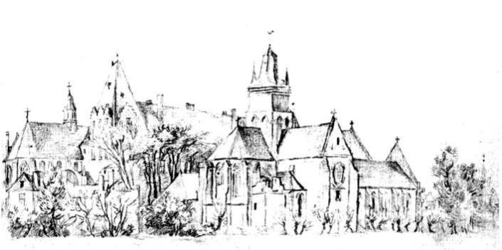 dessin-village