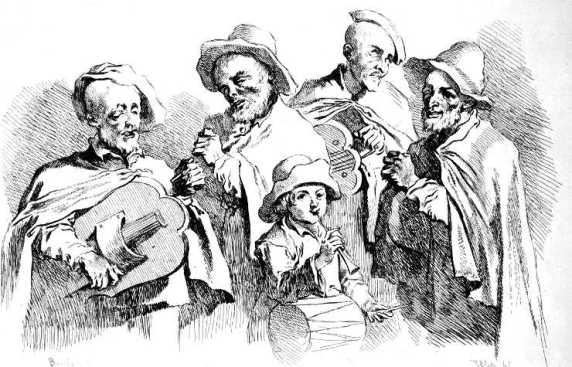 mendiants.