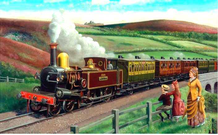 Cuthbert-Hamilton-train