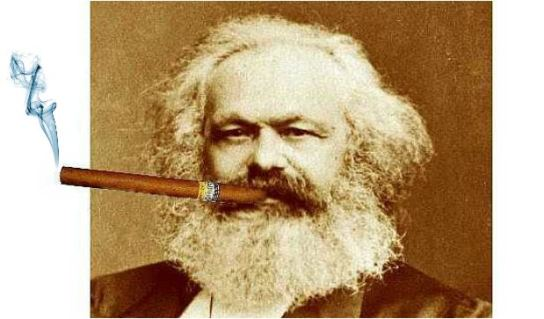 karl-marx-cigare