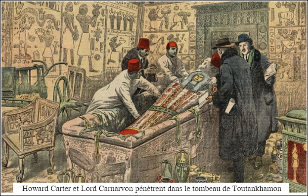 howard carter-lord canarvon