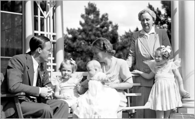 famille royale hollande 1943
