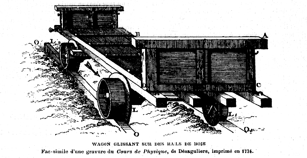 wagon-chemin de bois