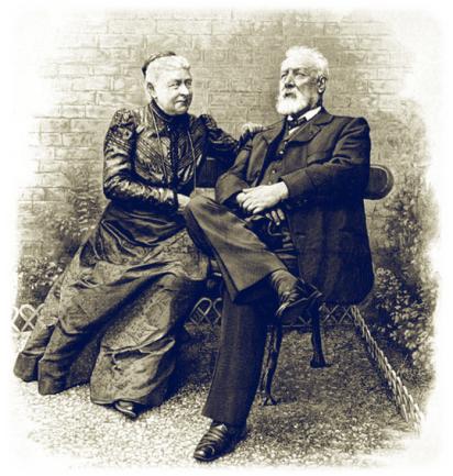 jules verne et sa femme