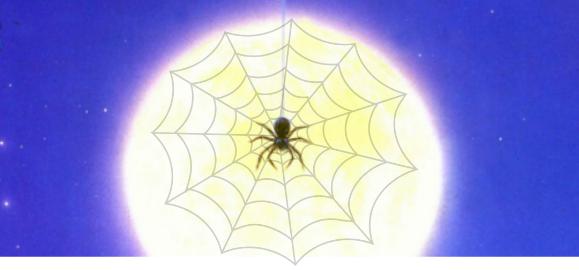 araignée-toile_lune