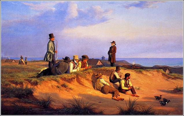 hommes-dune-plage